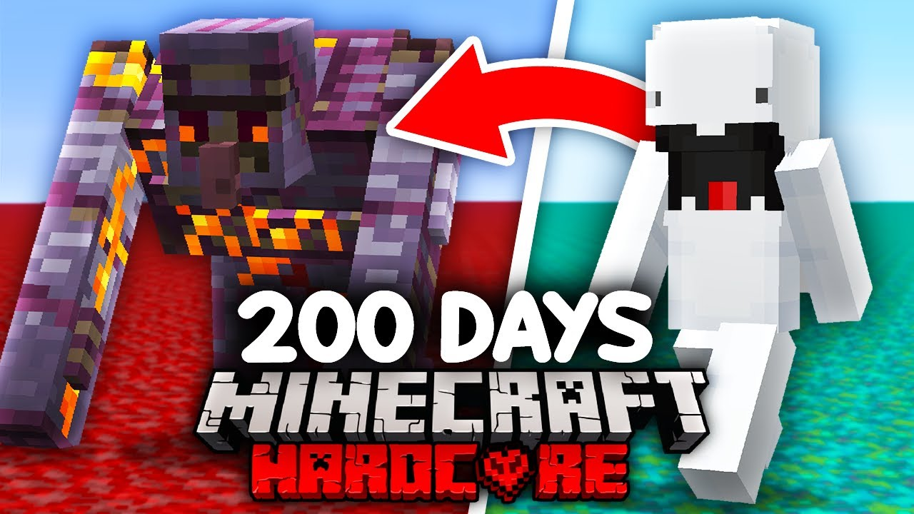 Download I Survived 200 Days as a SHAPESHIFTER in Minecraft...