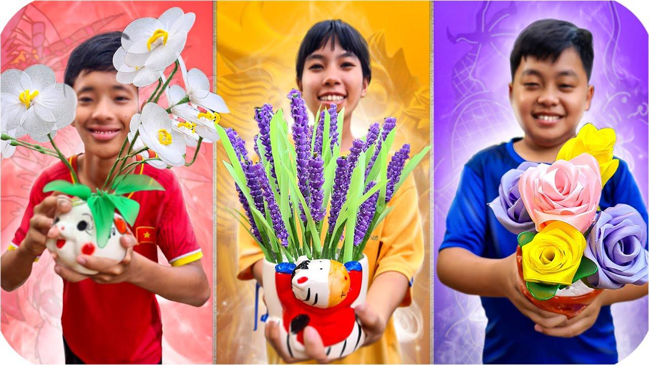 Tony | Cuộc Thi Làm Hoa Từ Ống Hút - Flower Handmade