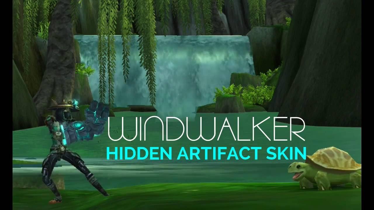 wow legion windwalker monk hidden artifact skin