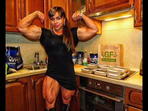 most muscular woman earth