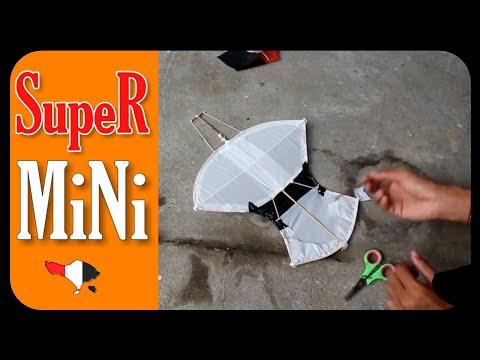Janggan Super Mini | Membuat & Tes Terbang | Layang Layang Bali