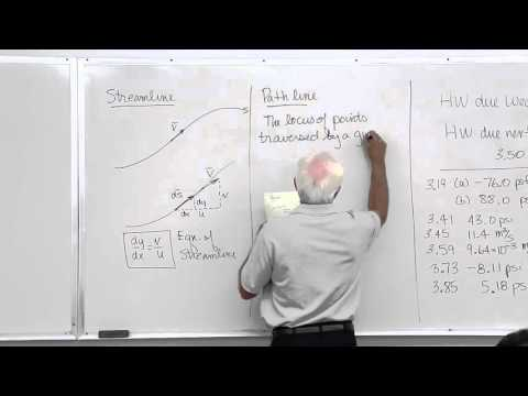 Fluid Mechanics: Fluid Kinematics (8 of 18)