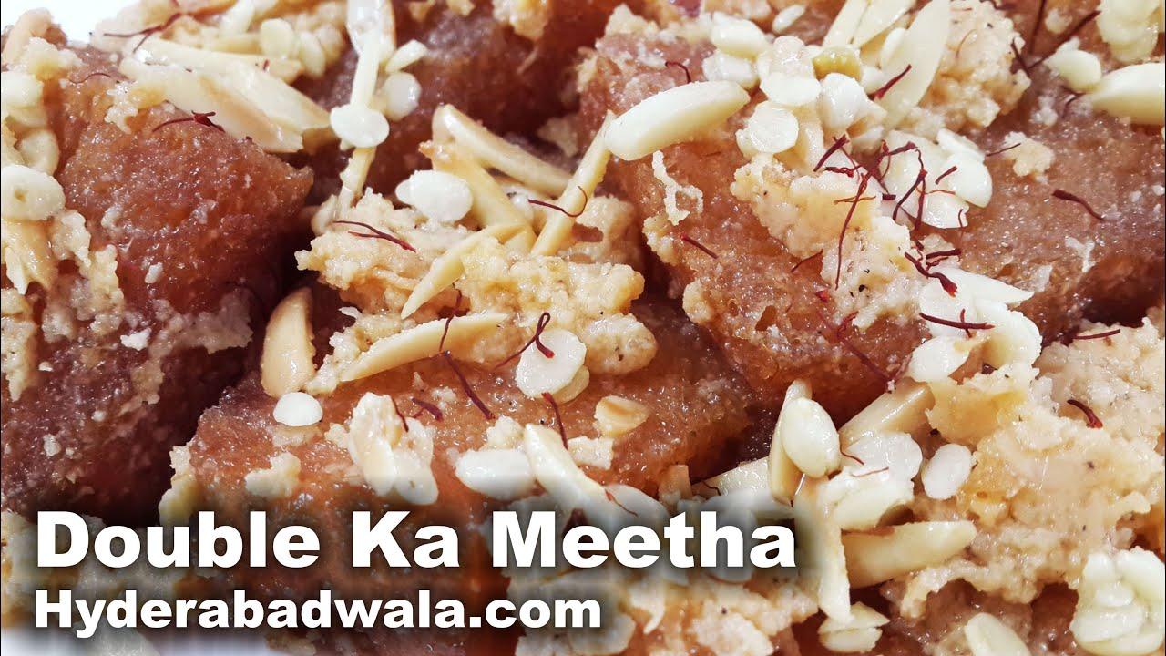 Double ka meetha recipe video how to make hyderabadi double ka double ka meetha recipe video how to make hyderabadi double ka meetha easy simple youtube forumfinder Choice Image
