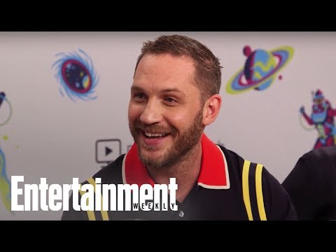 'Venom': Tom Hardy Compares 'Venom' Role To A Tetris Puzzle  SDCC 2018  Entertainment Weekly
