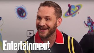 'Venom': Tom Hardy Compares 'Venom' Role To A Tetris Puzzle | SDCC 2018 | Entertainment Weekly