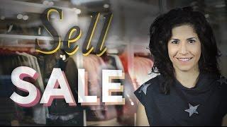 SELL vs. SALE | American English pronounciation