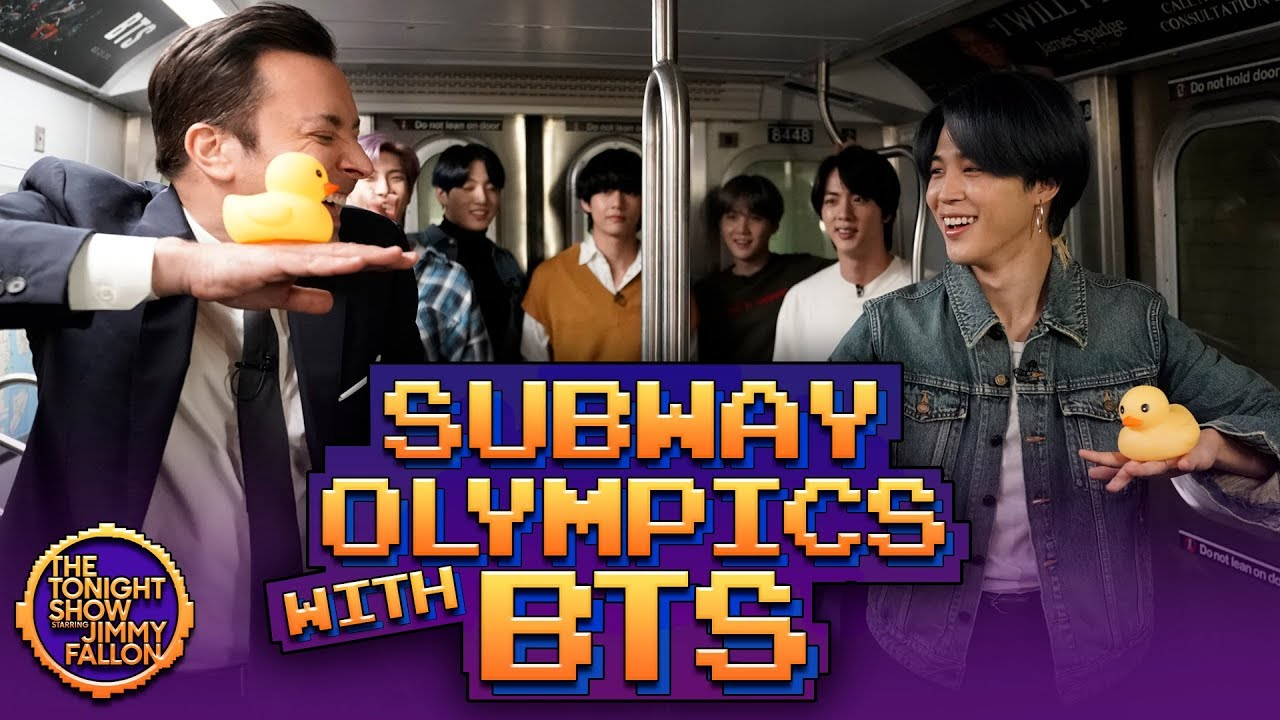Subway Olympics with BTS