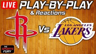 Rockets vs Lakers | Live Play-By-Play & Reactions