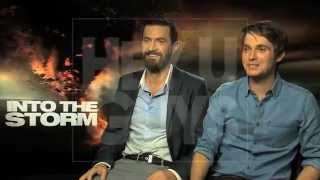 Richard Armitage and Max Deacon Interview - Into the Storm
