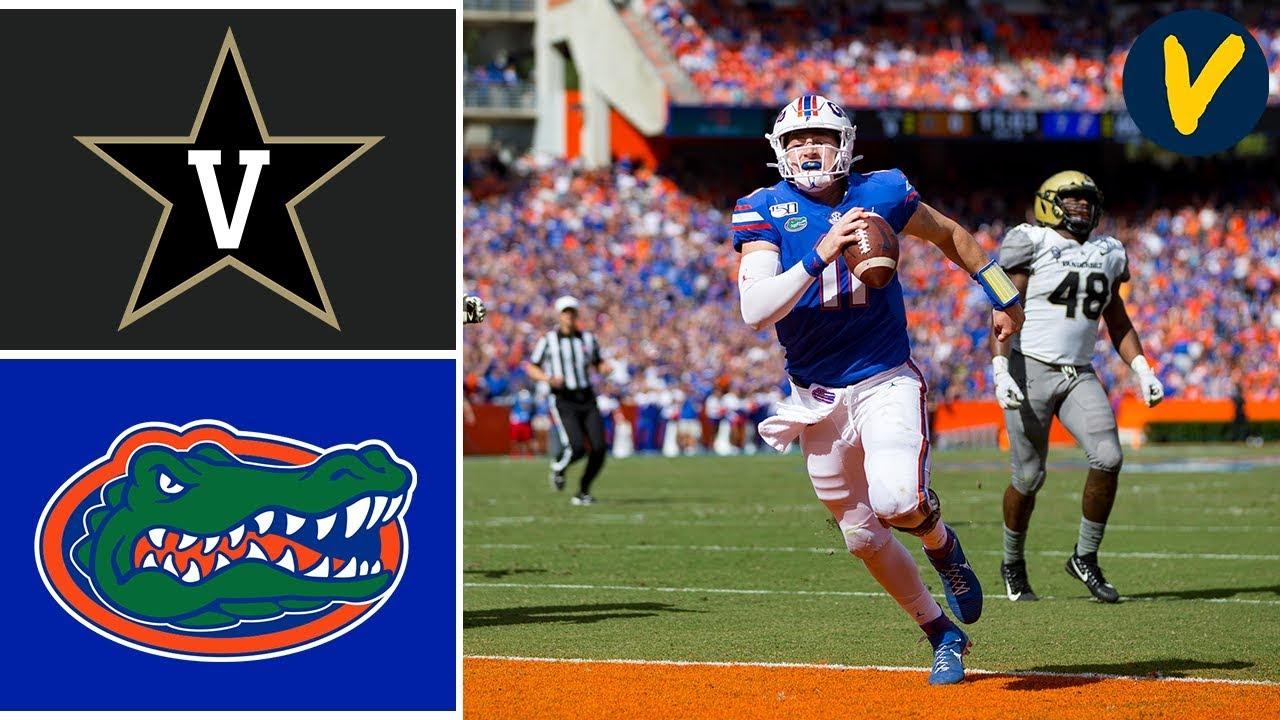 Vanderbilt Vs Florida Highlights Week College Football YouTube