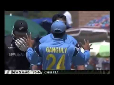 India vs New Zealand cricket World Cup 2003 highlights