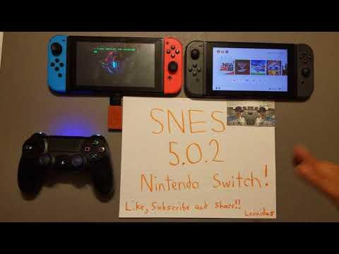 SNES Nintendo Switch HOMEBREW (Super Nintendo Entertainment System) Emulator/Virtual Console 5.0.2