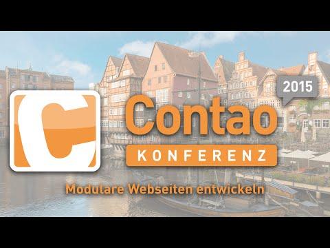 Modulare Webseiten Entwickeln - Contao Konferenz 2015 - #ck2015