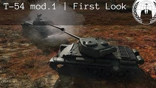 T-54 mod.1 First Look | World of Tanks Blitz