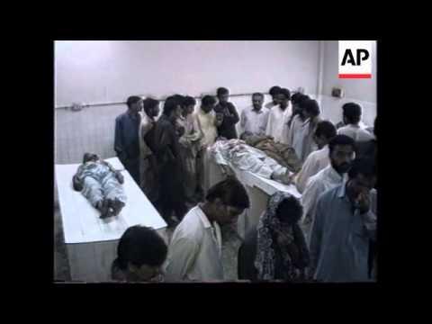 PAKISTAN: KARACHI: MQM RETALIATION KILLINGS LEAVE AT LEAST 16 DEAD