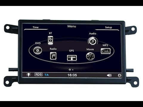 audi q5 a5 gps navigation system upgrade with. Black Bedroom Furniture Sets. Home Design Ideas