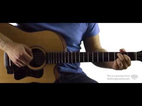 You Look Good In My Shirt - Guitar Lesson and Tutorial - Keith Urban