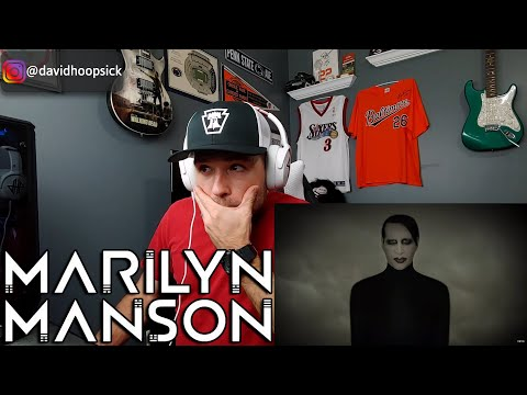 FIRST TIME Hearing Marilyn Manson !!! - WE ARE CHAOS (REACTION!!!)