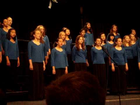 """O' Lovely Rose"" by Thomas S. Hart Middle School's Treble Choir"