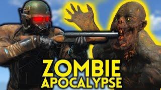 Fallout 4 ZOMBIE APOCALYPSE - Gameplay Ep. 14