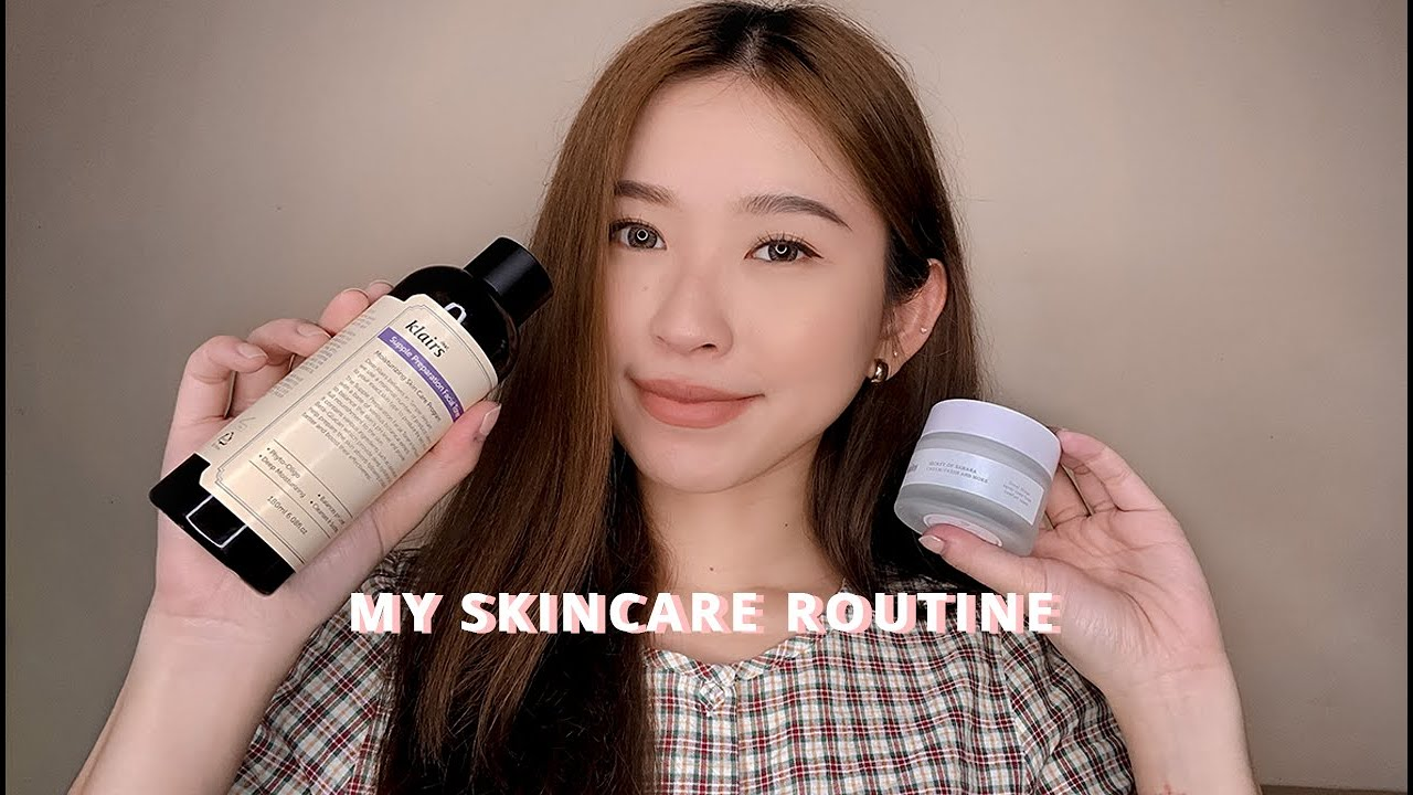 my skincare routine (how i got rid of a bad breakout) | farrah espina