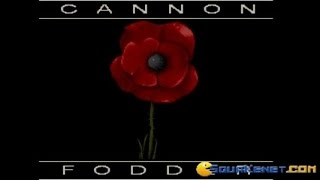 Cannon Fodder gameplay (PC Game, 1993)