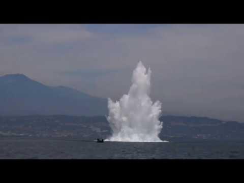 Palombari Sdai Augusta fanno brillare bomba nel porto di Catania