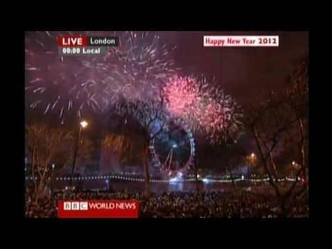 BBC World News | Countdown and New Year from Central London (2012).