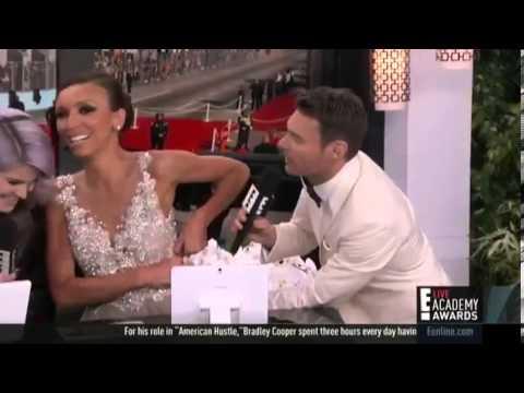 E! Host Giuliana Rancic's Zip Breaks On Oscar Live Television