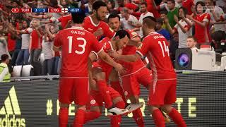 Fifa 18 world cup  England v Tunisia in 4k Ultra HD / Fifa