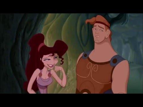 "HERCULES [1997] Scene: ""Rippling pectorals""/Meeting Meg."