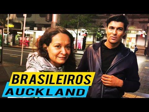BRASILEIROS EM AUCKLAND  NOVA ZELÂNDIA  - VLOG OUTUBRO 2017