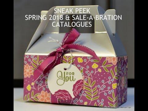 No.331 - Sneak Peek Spring 2018 & SAB Catalogues - Stampin' Up! UK