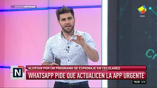 Urgente: Whatsapp pide que actualicen la App