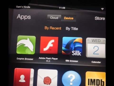 Install Flash Player to the Kindle Fire, HD, HDX