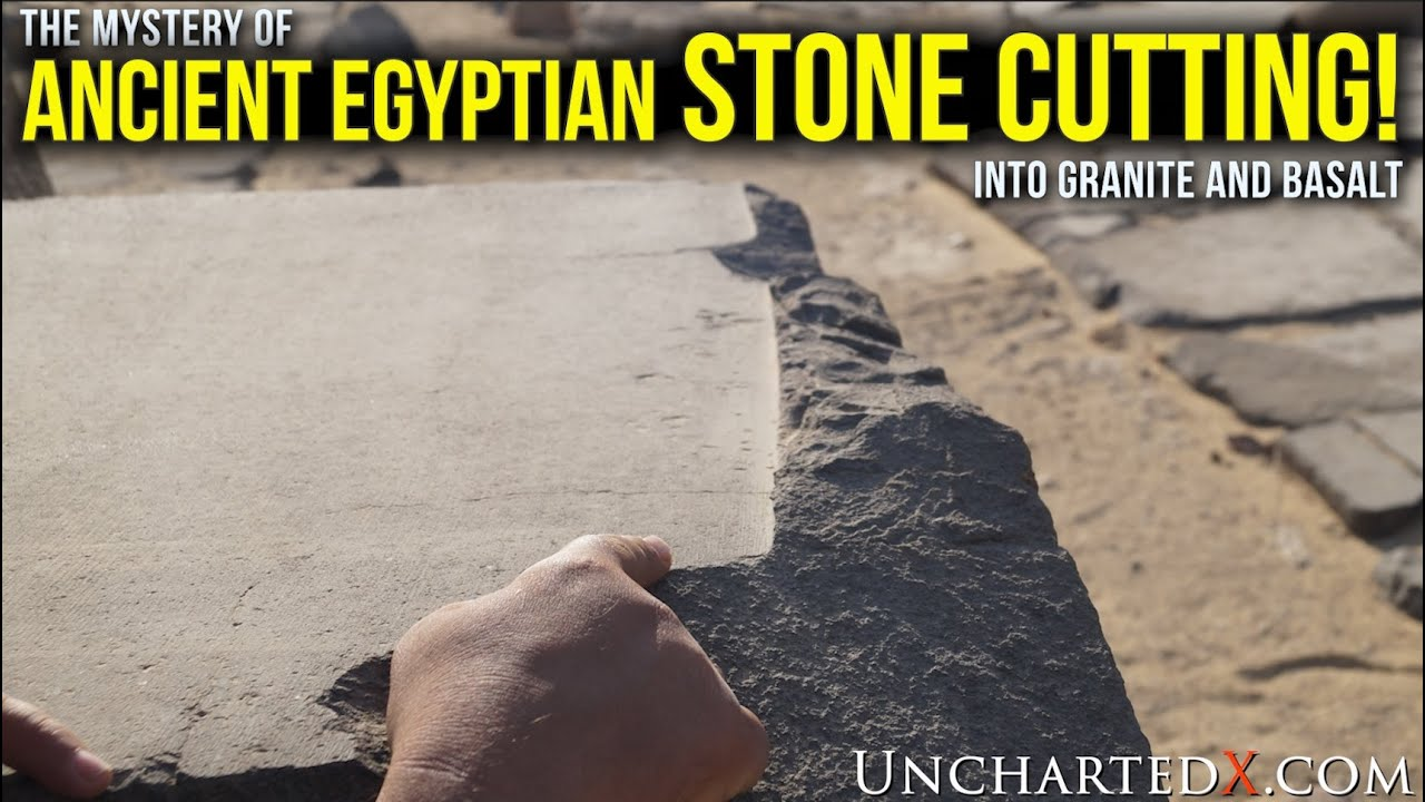 The Mystery of Ancient Egyptian Stone Cutting in Basalt and Granite - UnchartedX full documentary!