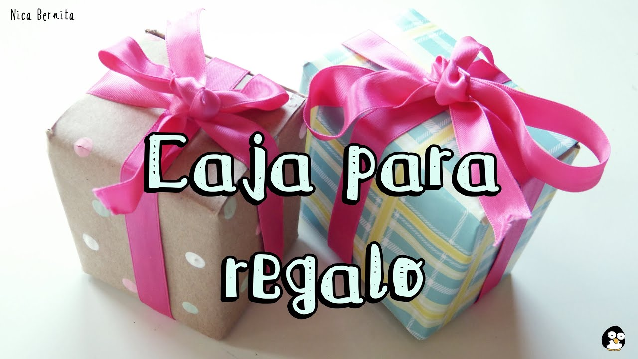 Caja de regalo manualidades para regalar caja para for Roba usata regalo