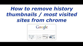 How to Disable Thumbnails on Google Chrome