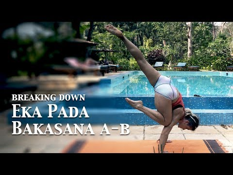 Eka Pada Bakasana A & B | Ashtanga Yoga with Jelena Vesic