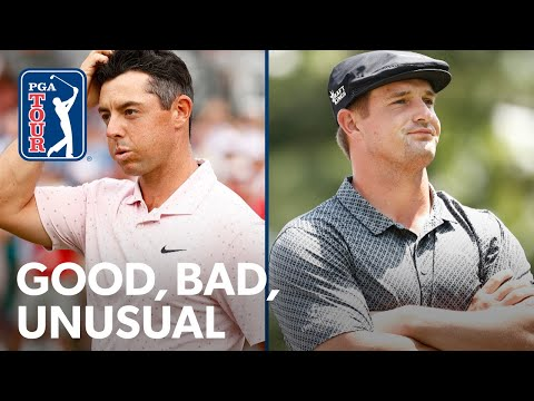 Rory gets by with a little help, DeChambeau's doozy and Phil's back (almost)