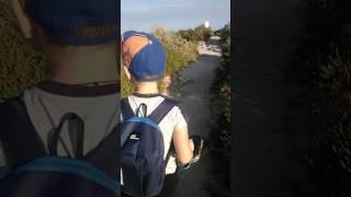 Нисси Бич в марте, Кипр, Айя-Напа Video