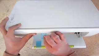 مراجعه كامله لطابعه HP Deskjet 2130 { printer, Scanner and Copier } YouTube