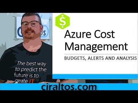 Azure Cost Management Tutorial