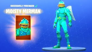 PEAU DE MERMAN HUMIDE DE 'NEW' ! ! Fortnite Bataille Royale