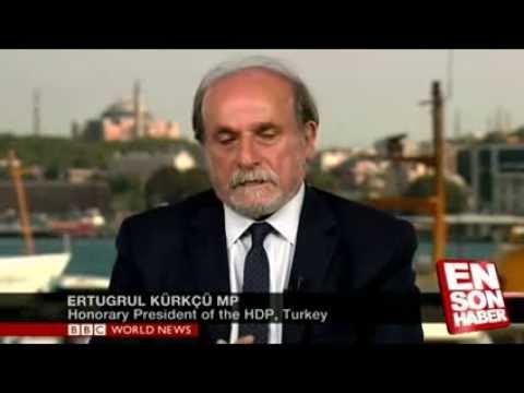 BBC spikerinin Ertuğrul Kürkçü'yü rezil rüsva etmesi