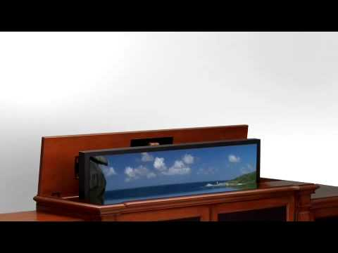 Tv Meubel Billy.Touchstone Tv Lift Cabinet Informational Video Youtube