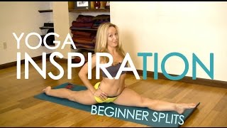 Repeat youtube video Beginner Splits in Yoga with Kino MacGregor