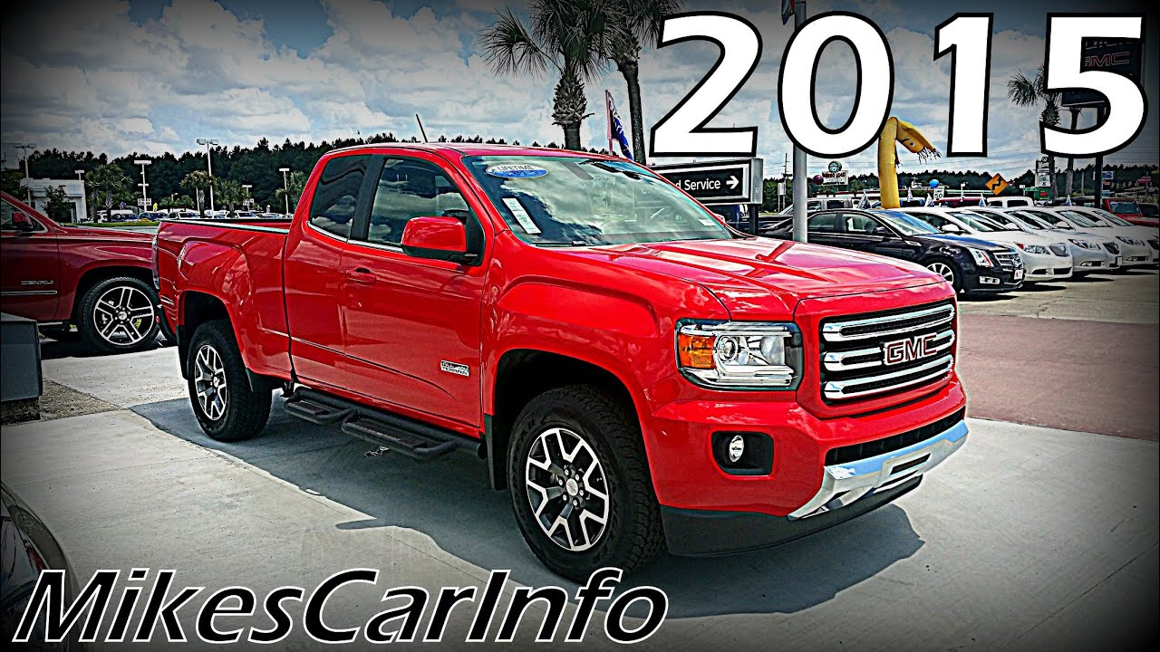 Lifted Gmc Canyon >> 2015 GMC CANYON All-Terrain Package - YouTube