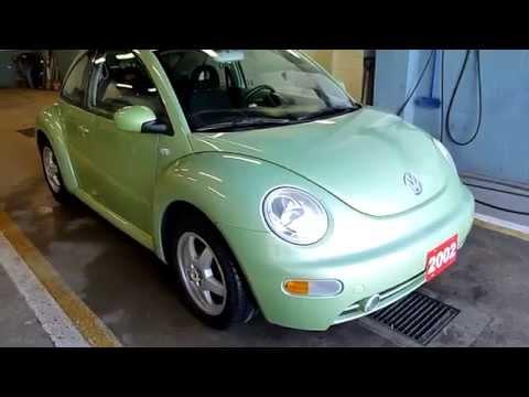 2002 Volkswagen Beetle Green