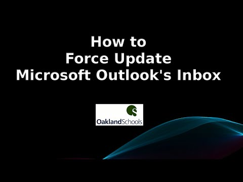 How To Force Update Microsoft Outlook's Inbox